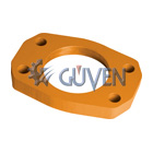 FLANGE FOR PRESSURE PIPE